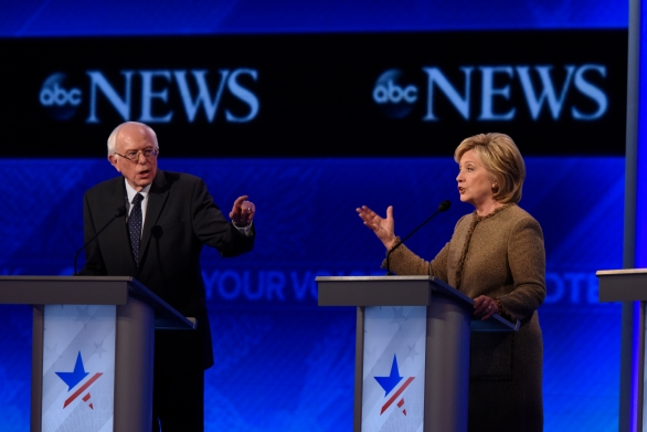ABC NEWS - 12/19/15 - ABC News coverage of the Democratic Presidential debate from St. Anselm College in Manchester, NH, airing Saturday, Dec. 19, 2015 on the ABC Television Network and all ABC News platforms.  